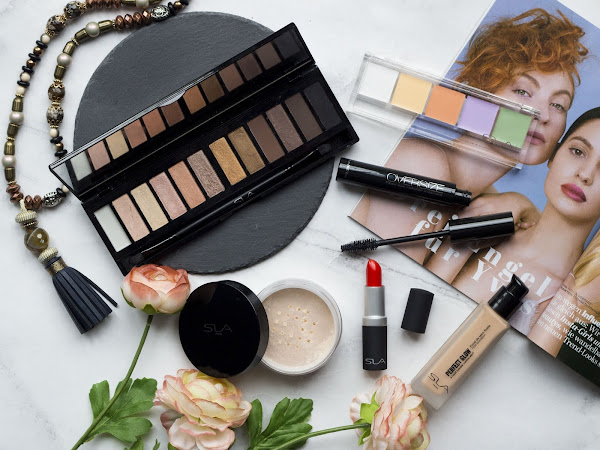 Sommerlook mit SLA Paris Cosmetics