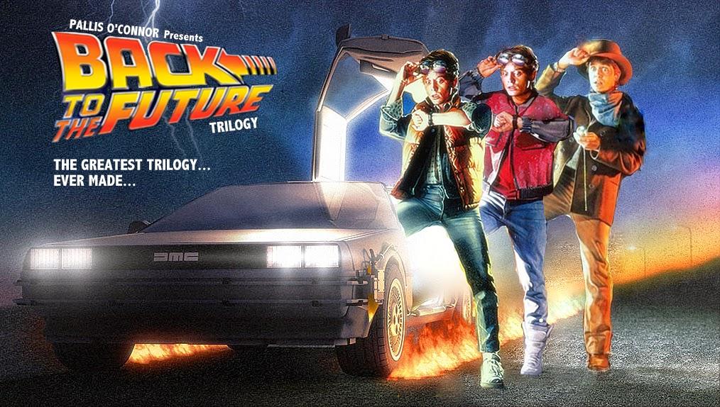 Poster trilogía Regreso al futuro