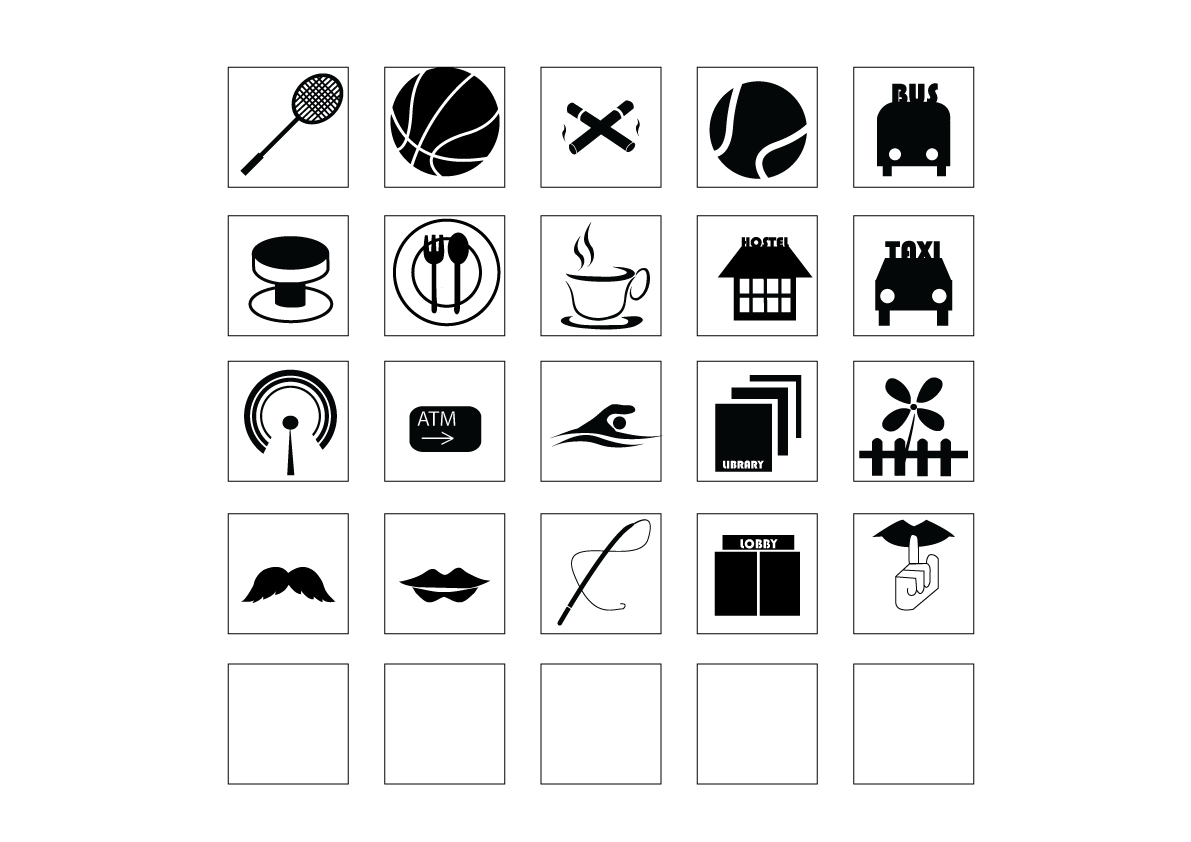 Mind Confusion: visual communication Icon