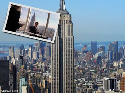 "Empire State Building em ""Os pinguins do papai"""