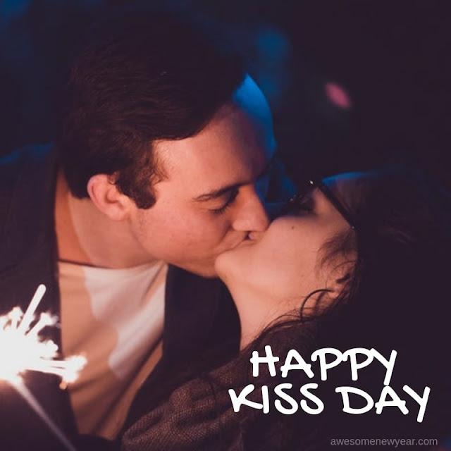 Happy Kiss day Photo