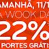 Wook - 11/11 Desconto 22% e portes grátis _ Promoções Livros