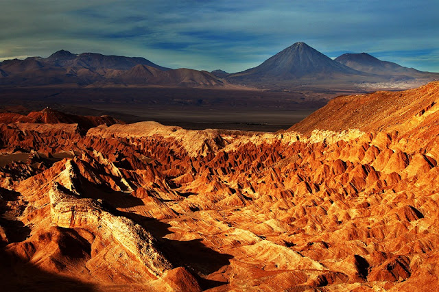 Valle de la Muerte no verão