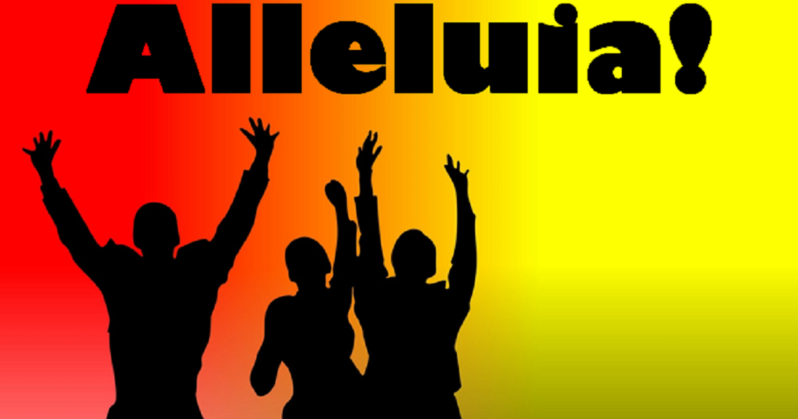 Alleluia Alleluia Give Thanks to the Risen Lord (lyrics ...