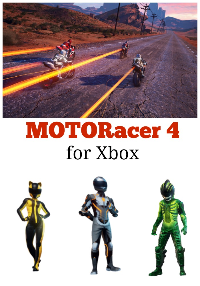 Thoughts on the new Moto Racer 4 for Xbox plus a giveaway