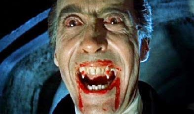 christopher lee dracula drácula blood fangs sangre colmillos