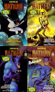 batman, contos de batman, editora abril, livro