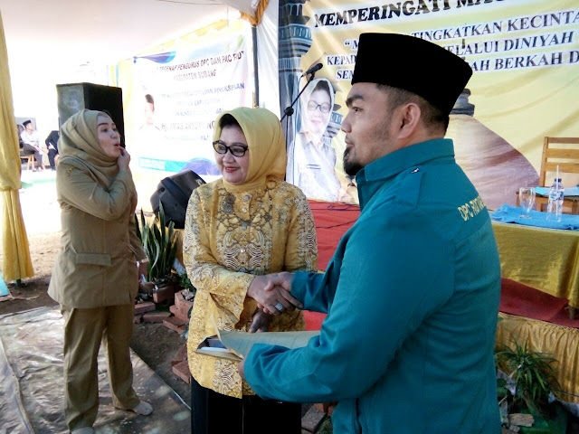 Silaturahmi Guru FKDT dan Pemberian Honor FKDT