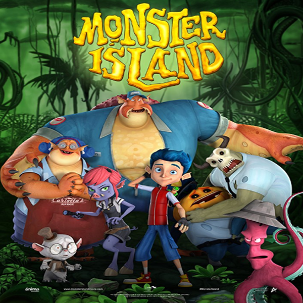 Monster Island, Monster Island Synopsis, Monster Island Trailer, Monster Island Review, Poster Monster Island
