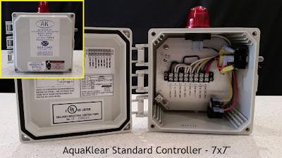 "AquaKlear Standard Controller (7x7"")"