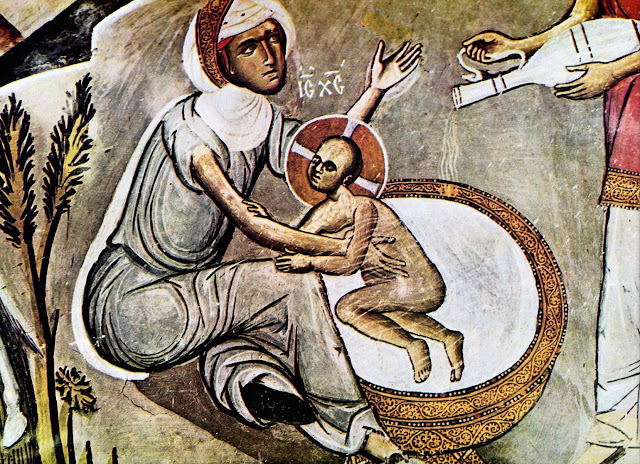 Αποτέλεσμα εικόνας για το λουτρο του βρεφους χριστου