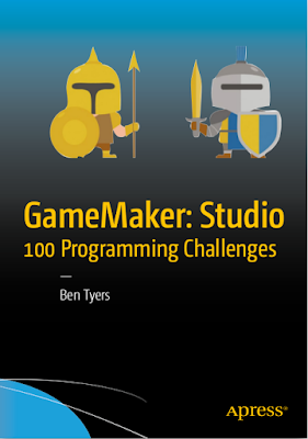 كتاب تحدي برمجة 100 لعبة [ PDF ] GameMaker Studio 100 Programming Challenges