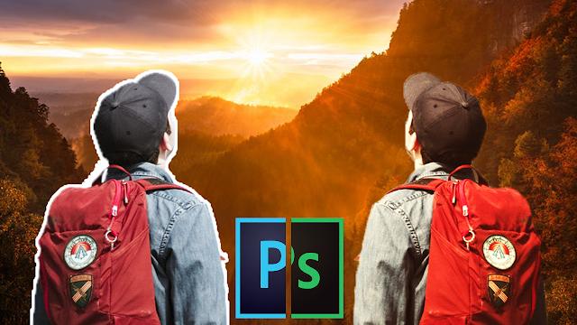نقل الصور من بيئة إلى أخرى على برنامج الفوتوشوب Photoshop Tips and Trick