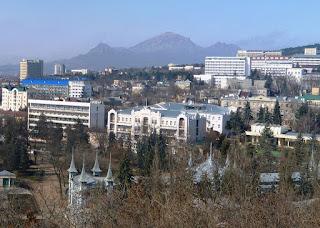 Вид на Отель Бристоль, Пятигорск, начало 21-го века