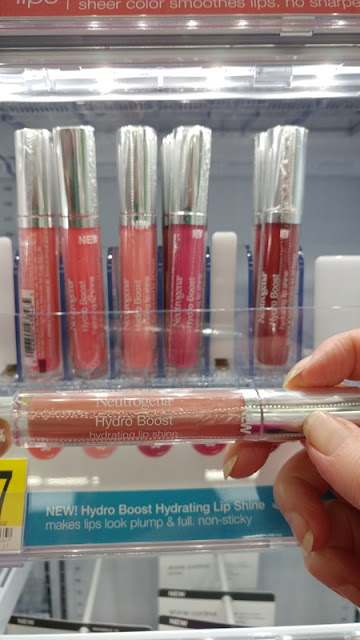 Neutrogena Hydro Boost hydrating lip shine #ad