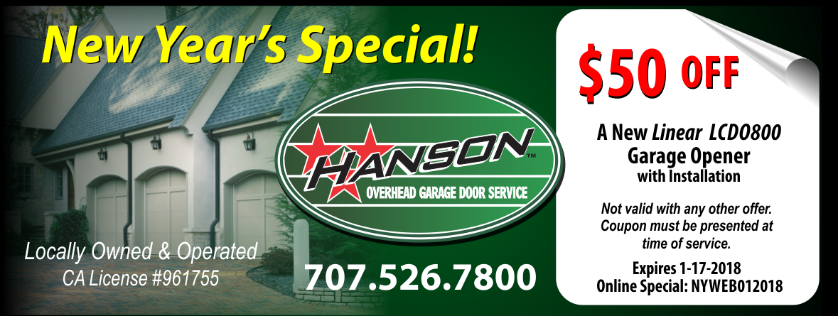 Hanson Overhead Garage Door Service Sonoma County on garage furnace, garage doors residential prices, garage entry door, garage styles, garage roof, garage plumbing,