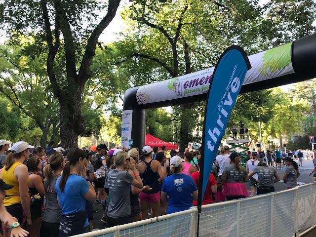 Women's Fitness Festival Start line