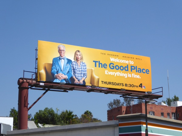 Good Place season 1 billboard