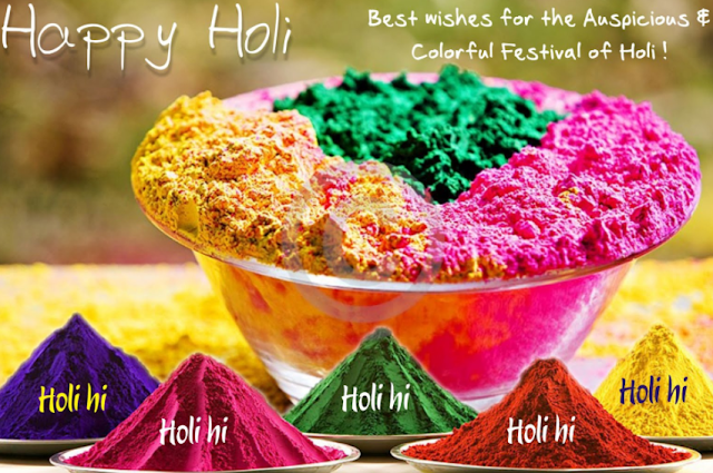Happy Holi Pictures for Whatsapp 2017