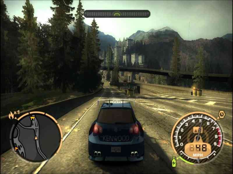 how to play nfs most wanted 2005