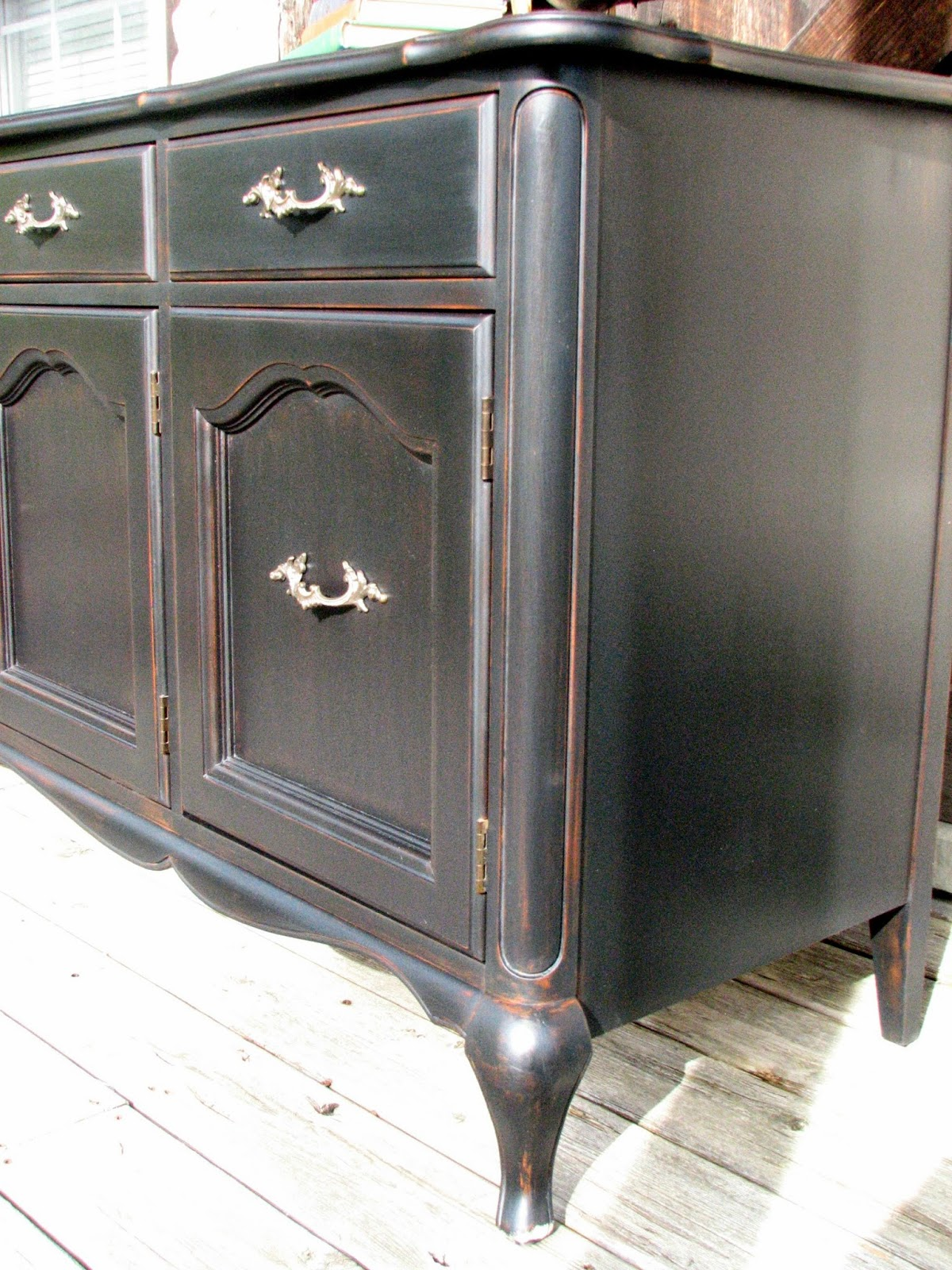 Laurel's Attic Black Gibbard Buffet SOLD