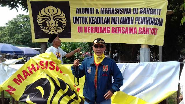 Kerahkan Massa Alumni UI Abal-Abal, Aktivis Malari 74: Jokowi sedang Panik