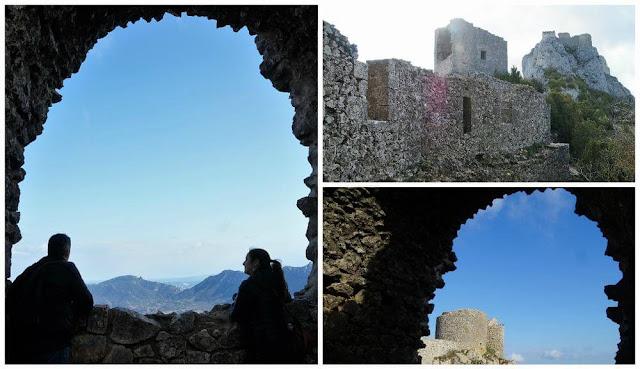 balcón del castillo de Peyrepertuse