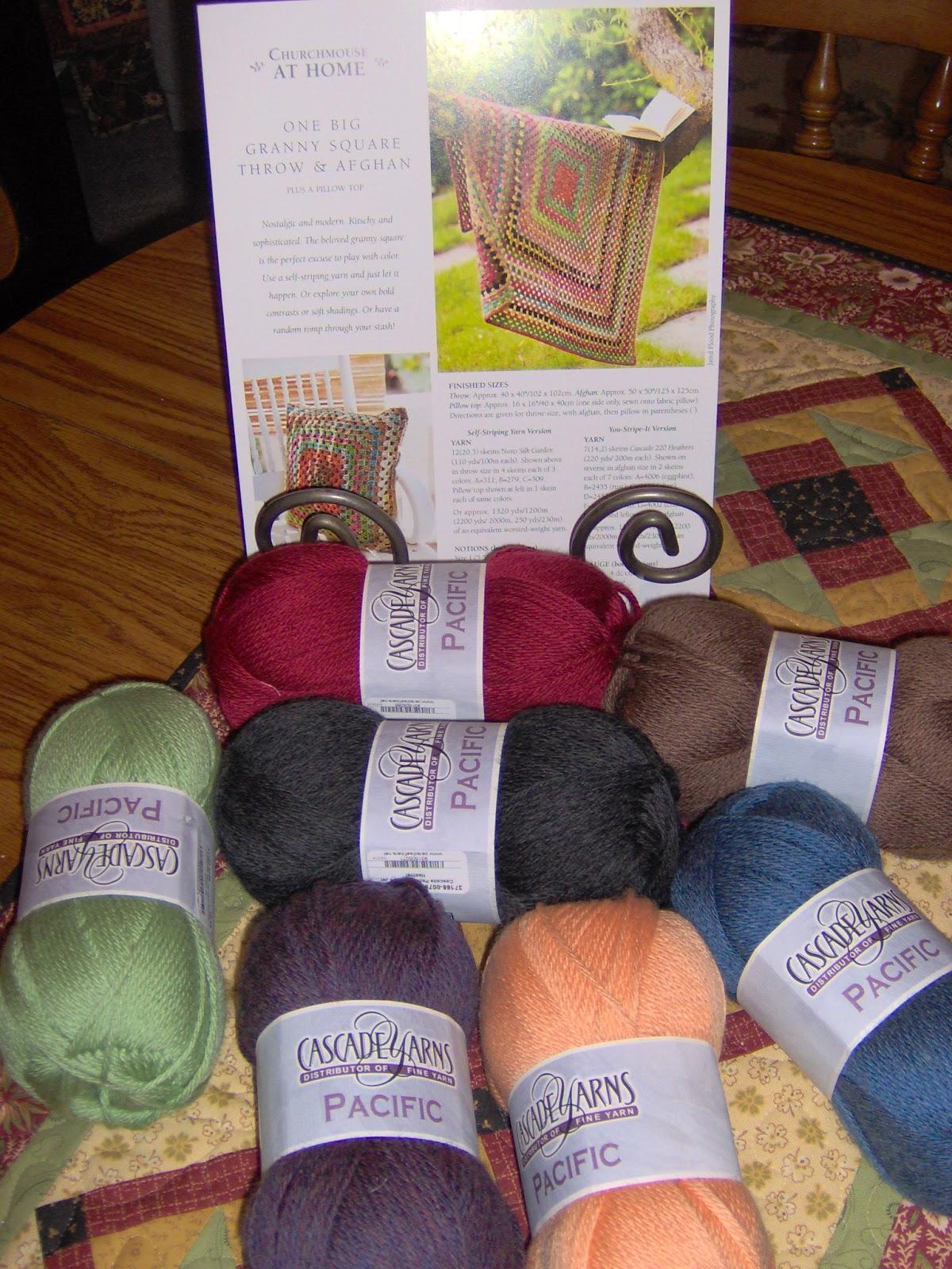 Review - Granny Square Afghan Crochet Kit