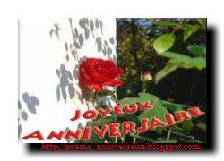 Poème d'anniversaire de ma mère