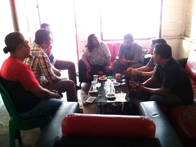Pertemuan penerima mandat IWO Asahan-Batubara dan pengurus IWO Sumut.