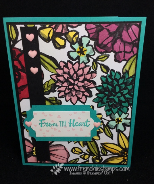 Everyday Label Punch, Petal Passion Designer Paper, Stampin'Up!, Frenchie Stamps