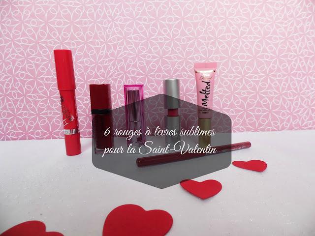 6 rouges à lèvres sublimes pour le Saint-Valentin