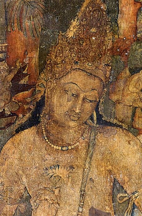 Padmapani Mural at Ajanta caves - Ancient Buddhist Monestry - Maharashtra India - Pick, Pack, Go