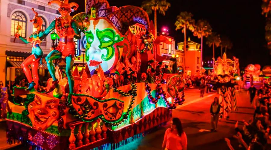 Mardi Gras, Universal Studios Orlando