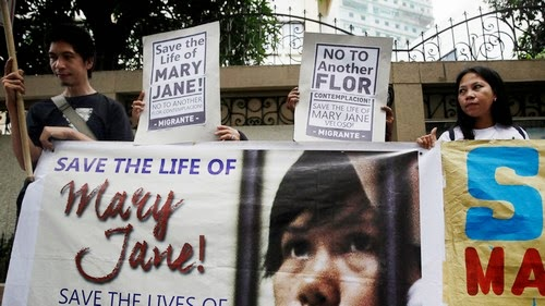 Family members of Filipina maid Mary Jane Veloso facing execution in Indonesia appeal for clemency