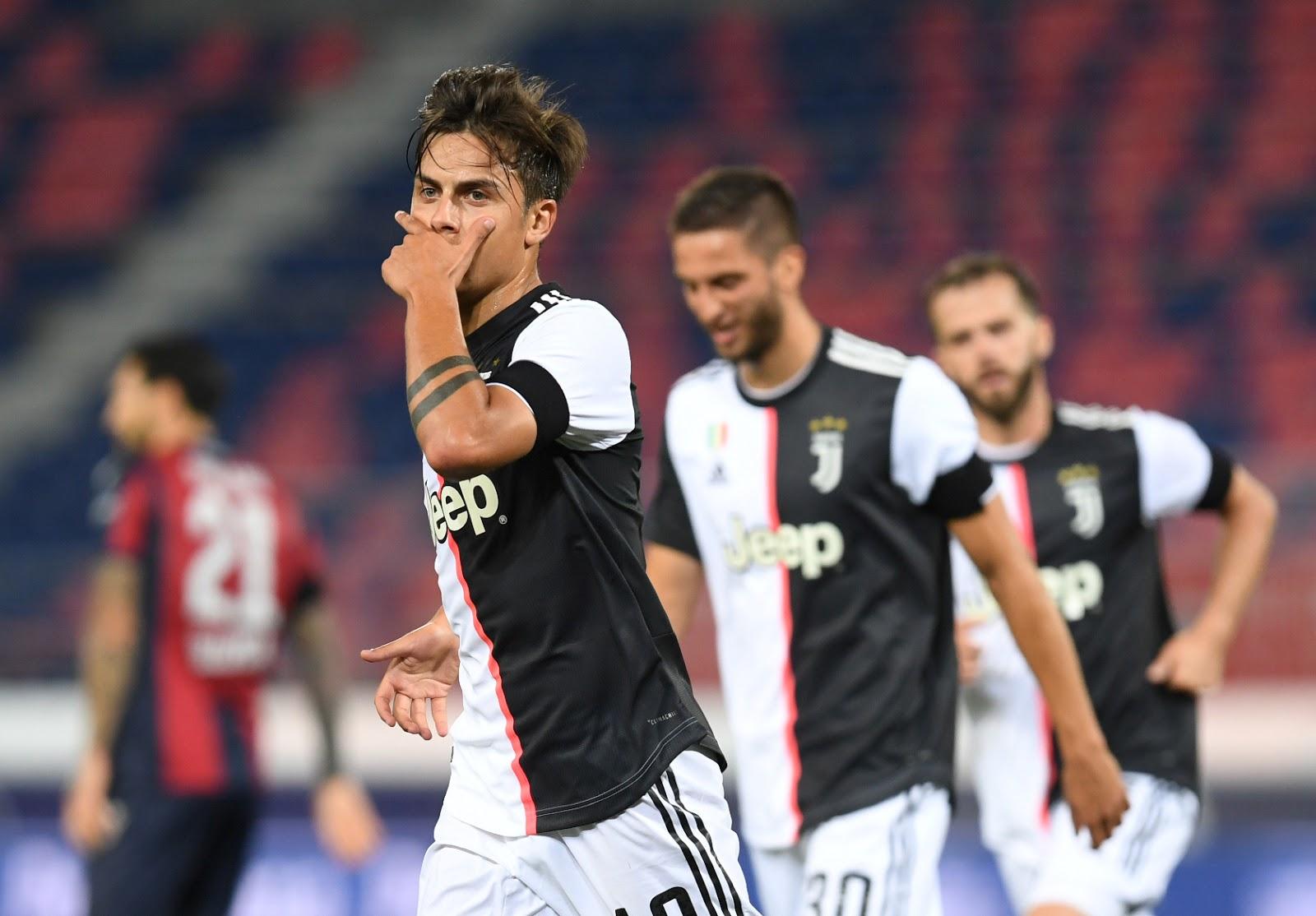 Serie A: El argentino Dybala marcó en la victoria del líder Juventus ante Bologna