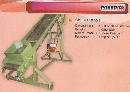 penjualan pemasangan pembuatan mesin conveyer belt jogja yogyakarta semarang solo surakarta purwokerto tegal cilacap jakarta surabaya