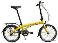 20 Inch FoldX Kyoto 3 Speed Shimano Internal Gear Folding Bike