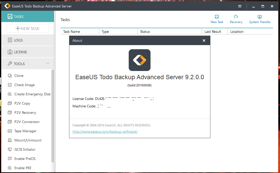EASEUS Todo Backup Advanced Server 10.5.0.0 + Patch + crack (FULL): EaseUS Data Recovery Wizard ...