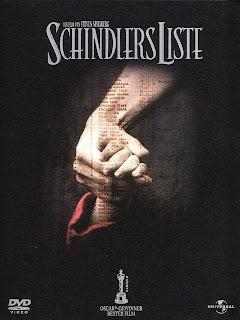 "Capa de ""A Lista de Schindler"", filme dirigido por Steven Spielberg"