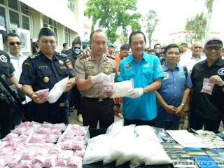 Sabu 10 Kg Disita, 1 Warga Aceh Tewas Didor