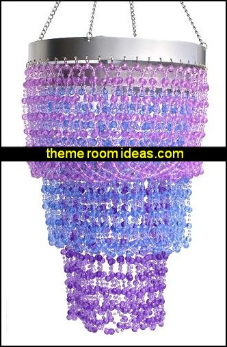 "Chandelier ""Mini Pop"" Purple, Violet & Blue"