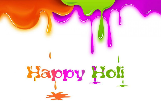 3D Happy Holi Wallpapers
