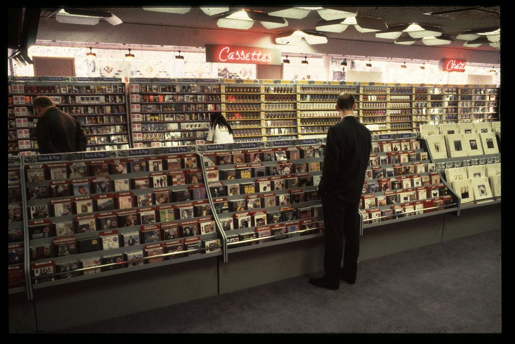 Old record shop p*rn HMV-store-1980s-36