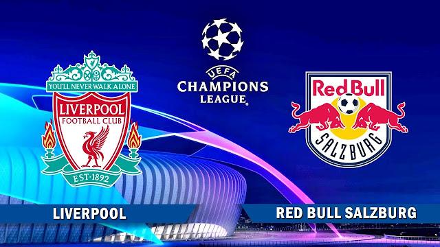 مشاهدة مباراة ليفربول وريد بول بث مباشر 10-12-2019 دوري أبطال أوروبا