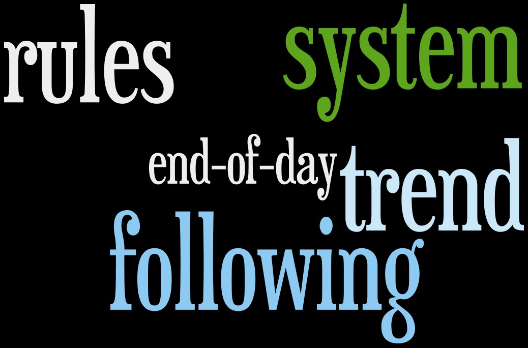 trend following system rules
