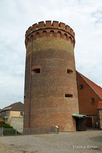 Juliusturm en el Interior de la ciudadela de Spandau