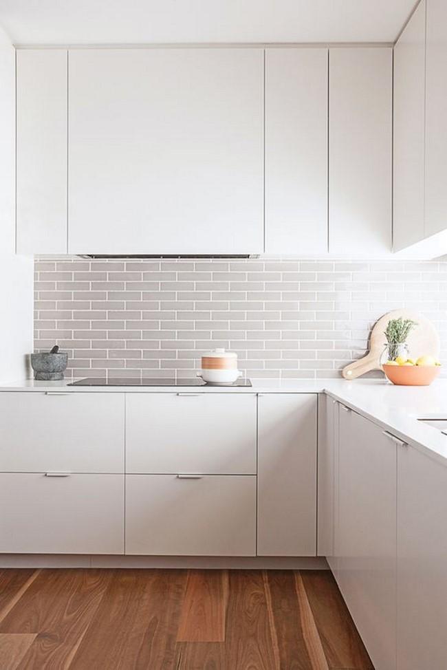 cocinas blancas modernas - Cocinas Modernas Blancas