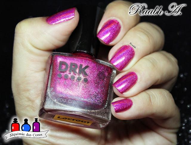 DRK Nails Lacrou, Esmalte Indie, Avon Mark Roxo Perolado, Studio 35 #Lumina, Lilás, Magenta, Esmalte Holográfico, Esmalte Perolado, Esmalte Texturizado,