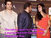 The advice given by Salman Khan and Katrina Kaif has left Varun Dhawan's film.